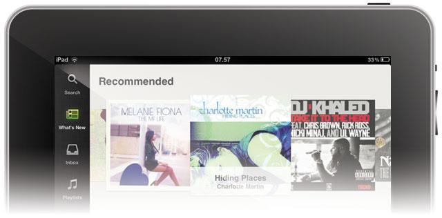 Spotify til iPad